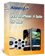 DVD to iPhone 4 Suite for Mac Box