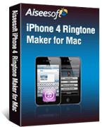 iPhone 4 Ringtone Maker for Mac Box